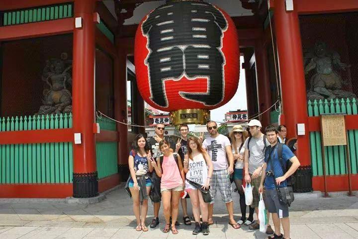 Tomodachi travels agosto 2014 for Puerta kaminarimon