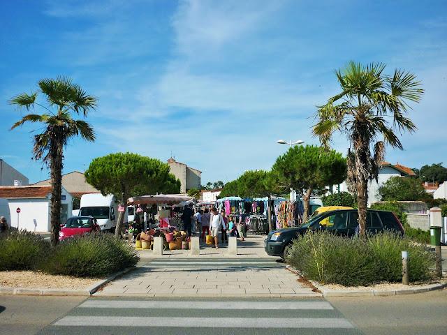 Village de Saint-Trojan les bains - L'île d'Oléron - Charente Maritime - France