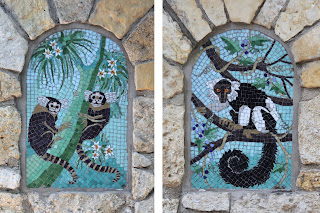 Old Monkey House Tiles