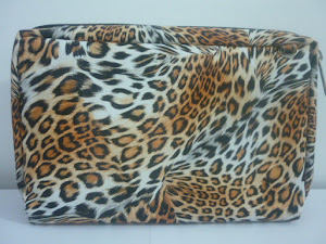Bank book Organizer HP LEOPARD Orange