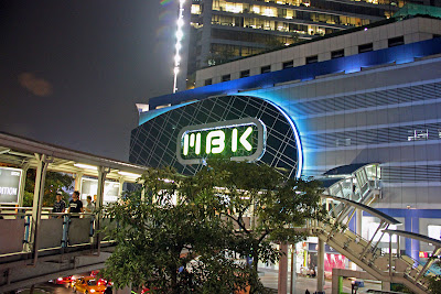 MBK shopping center em Bangkok