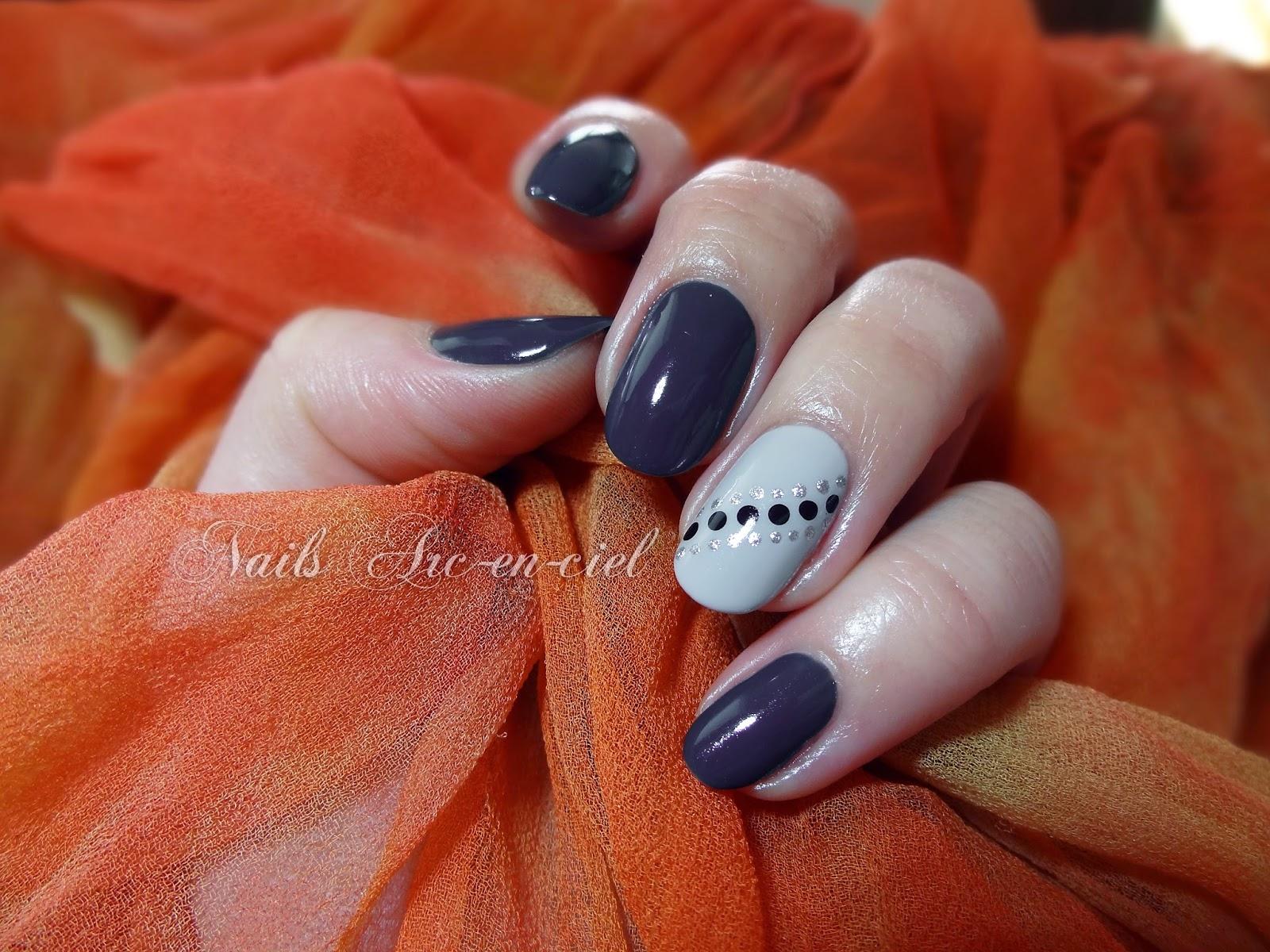 Nail art facile pour débutant au liner et au dotting