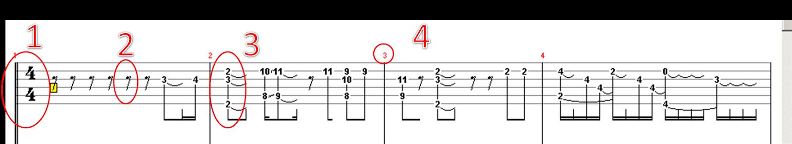 Cara Mudah Membaca Tab Gitar part 2