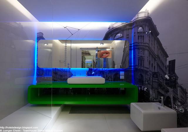 Les plus beaux hotels design du monde h tel townhouse for Les plus beaux lits