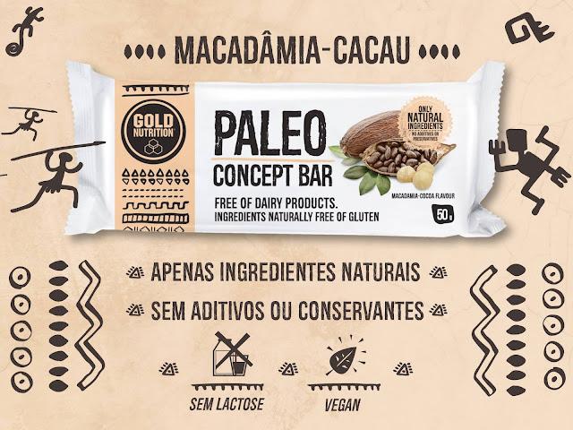 Barras Paleo Goldnutrition