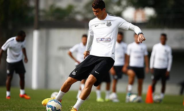 Gustavo Henrique vai ser mantido entre os titulares mesmo com Werley à disposição (Foto: Ricardo Saibun/Santos FC)