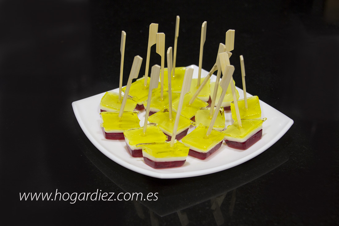 Gelatinas de colores Jelly Pops
