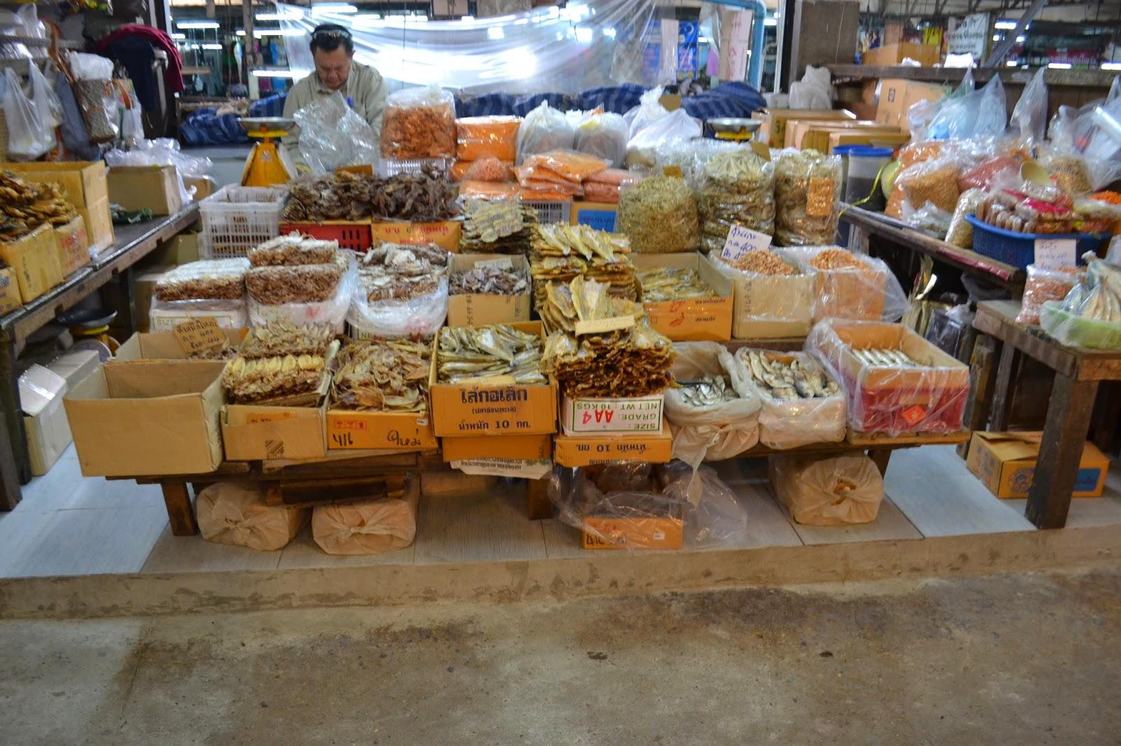 Chiang Mai, Thailande, voyage, marché, warorot market