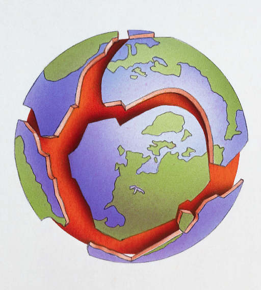 ... Pangea And Also Parts Of The Body Esl ... Tectonic Plates Map For Kids