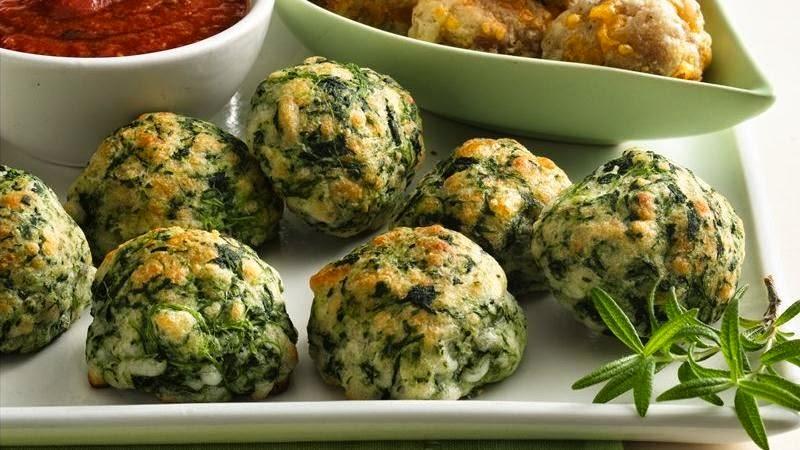 Spinach & Cheese Balls