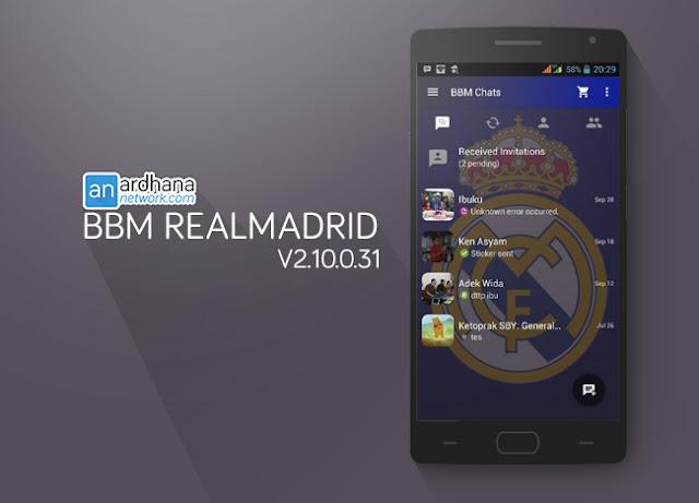 BBM Real Madrid