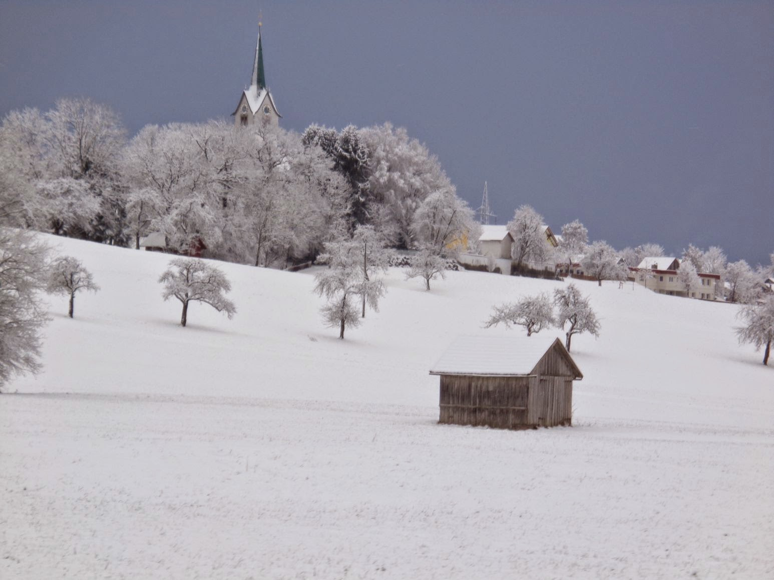frischer wind st stephanus im schnee. Black Bedroom Furniture Sets. Home Design Ideas