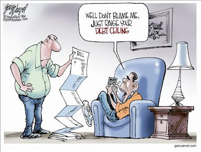 banksters warn US to hit debt ceiling by may16