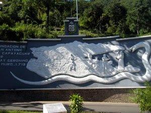 Mural a Fray Gerónimo Muro
