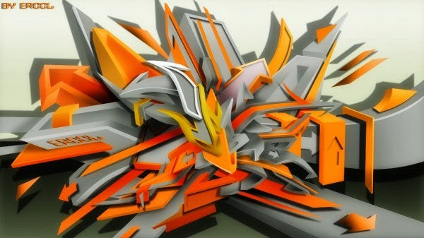 3d graffiti hd wallpaper free download