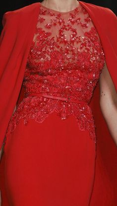 red, love Valentines, Elie Saab