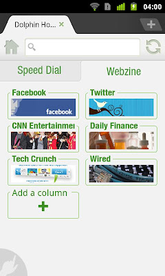 Dolphin Browser HD 7.4.1 Apk | Browser HD terbaik Android