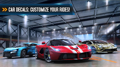 Download game Asphalt 8 Airborne v2.1.0i Mod Apk + Data terbaru gratis