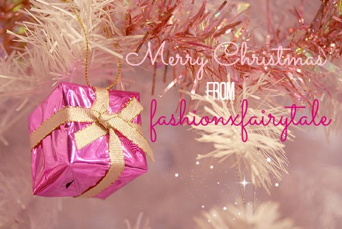 Merry Christmas from FashionxFairytale 2014