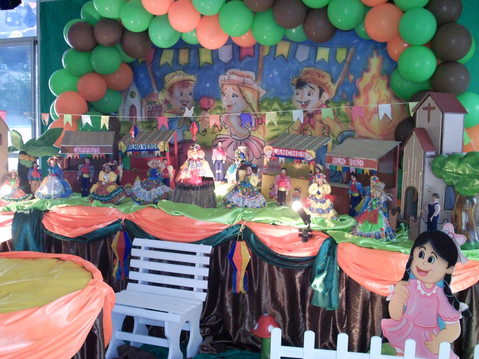 tema de aniversário festa junina
