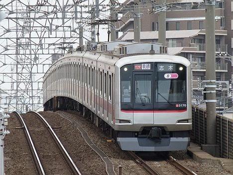 普通 志木行き 東急5050系