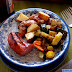 Roasted Potatoes with Squash, Peppers and Kielbasa