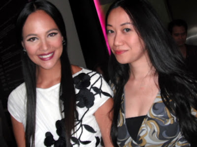 Trisha Sebastian with Sarah Myers in Philippines Fashion Week 2011