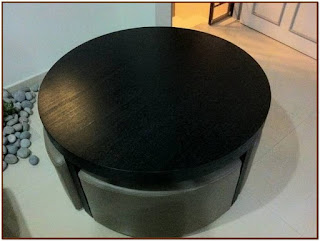 coffee table with stools singapore