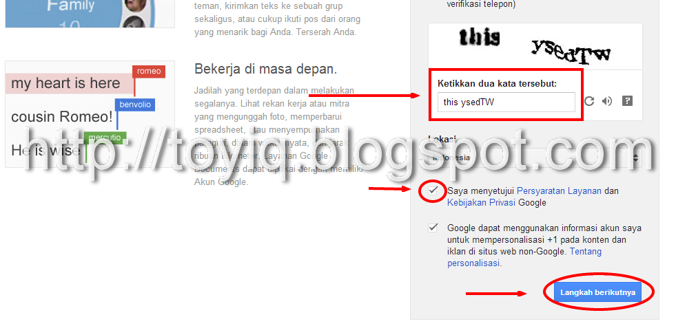 Cara membuat email gmail toyiq on blogger
