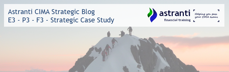 CIMA Strategic Level - E3 - P3 - F3 - Case Study