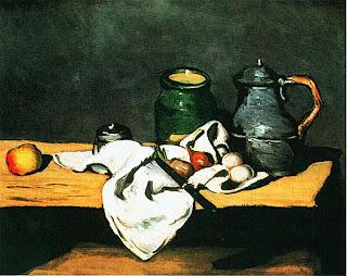 Поль Сезанн. Натюрморт с чайником. Ок. 1869.
