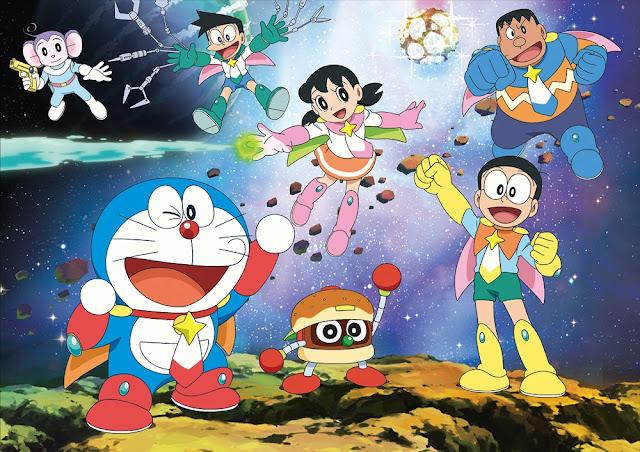 Doraemon Nobita Space Heroes burger director