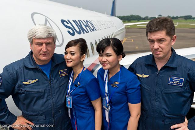 Pramugari dan awak pesawat Yang Menjadi Korban Sukhoi Superjet 100