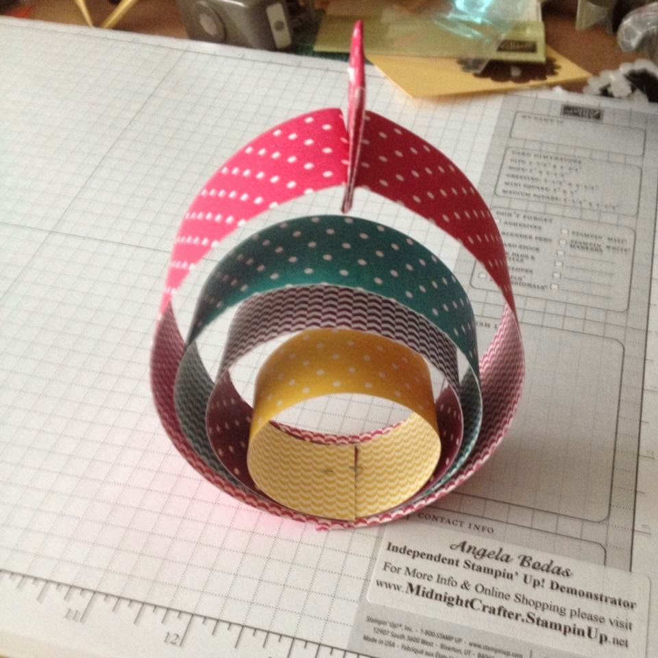 Paper Easter Egg by Midnight Crafting