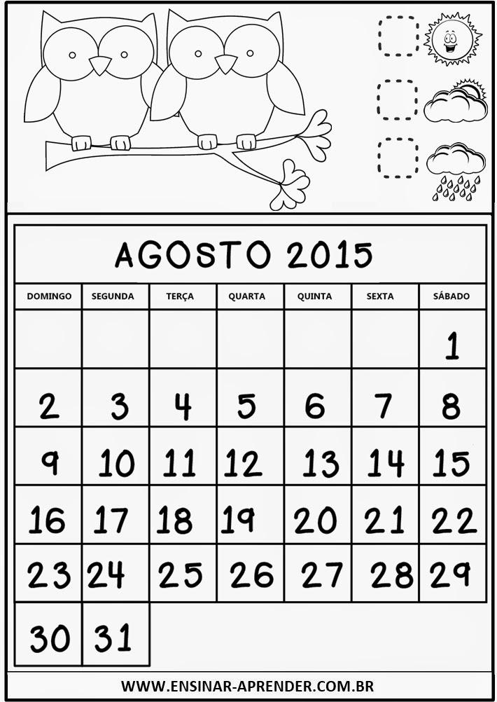 Calend Rio De 2015 Para Imprimir/page/2 | New Calendar Template Site
