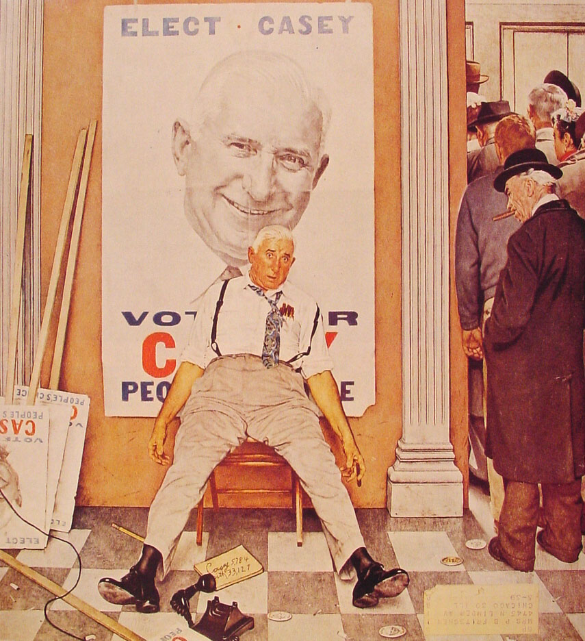 the life and art works of norman rockwell 29042001 no one is saying that rockwell's works suffered  hired as the art director of boys' life  norman rockwell's paintings aren't art is elitist.