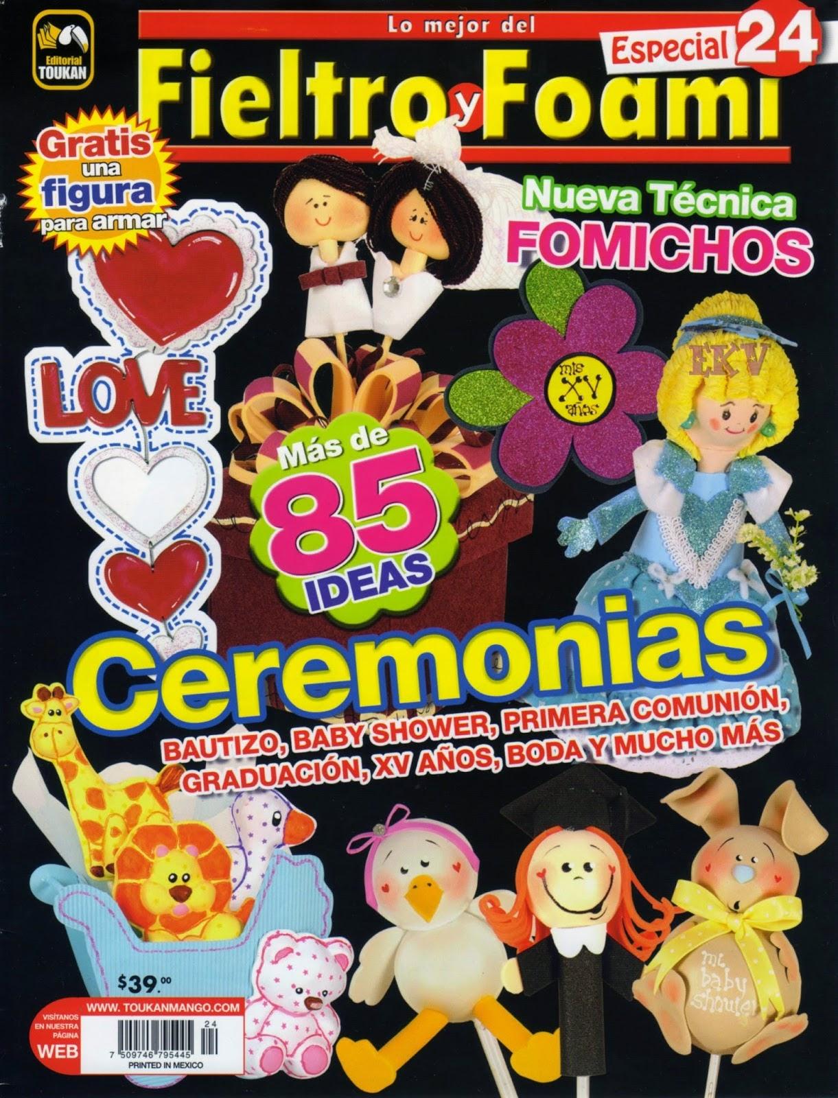 Revistas gratis fieltro y foami gratis for Revistas de decoracion gratis