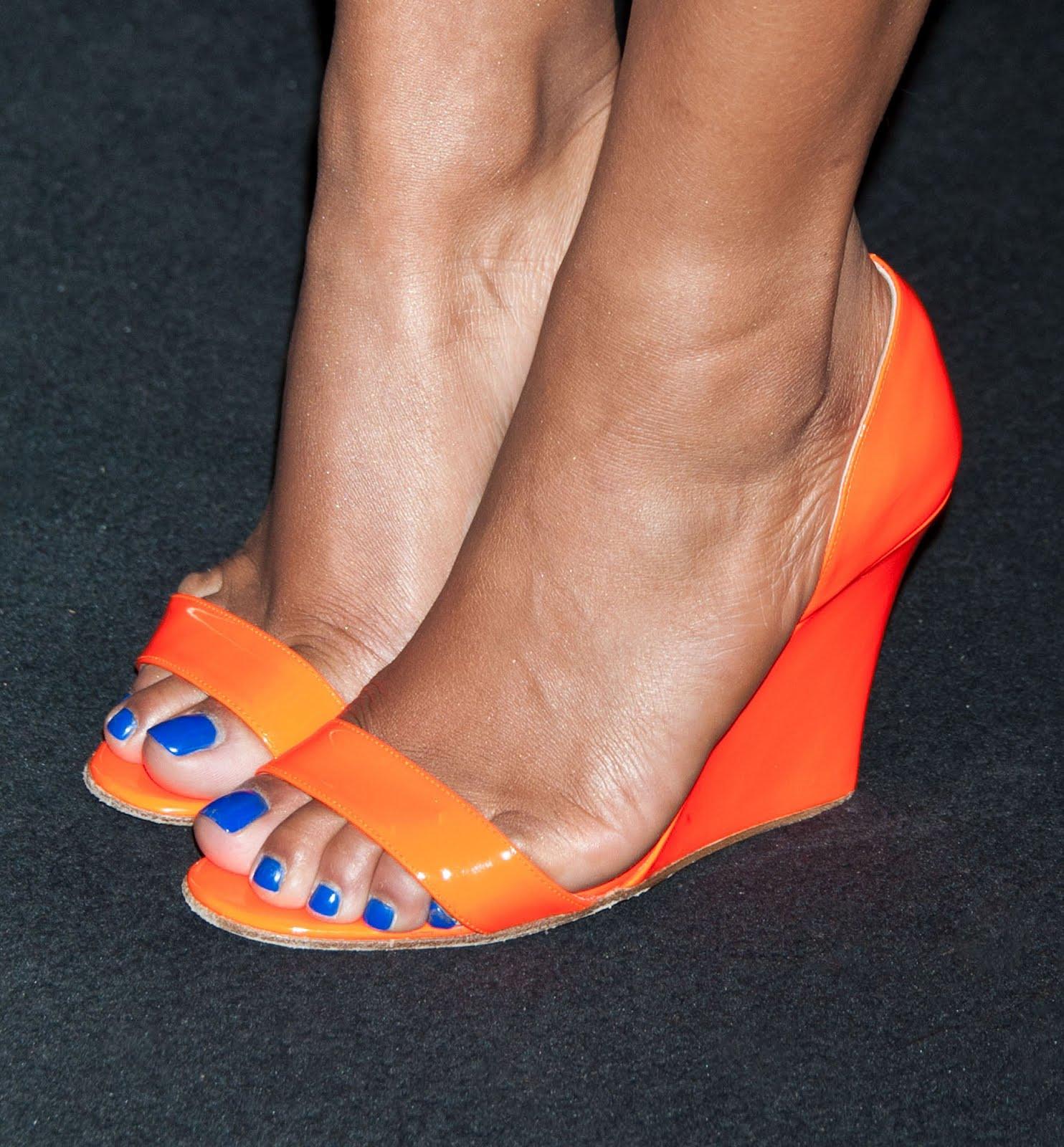 Celebrity Feet: Christina MilianJess Newton