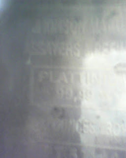 Platinum Johnson Mattheys