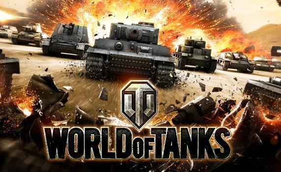 Jogo de guerra World of Tanks