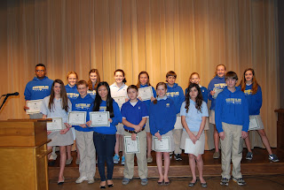 Montgomery Catholic Middle School Honor Roll Announced 1