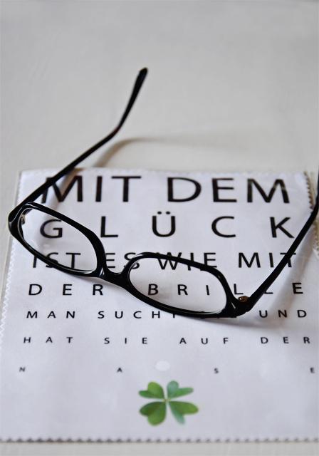 Alltagsperlen im Januar - Glück ist wie eine Brille @frauvau.blogspot.de