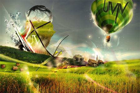 Nature Photo Manipulation: Uvivland