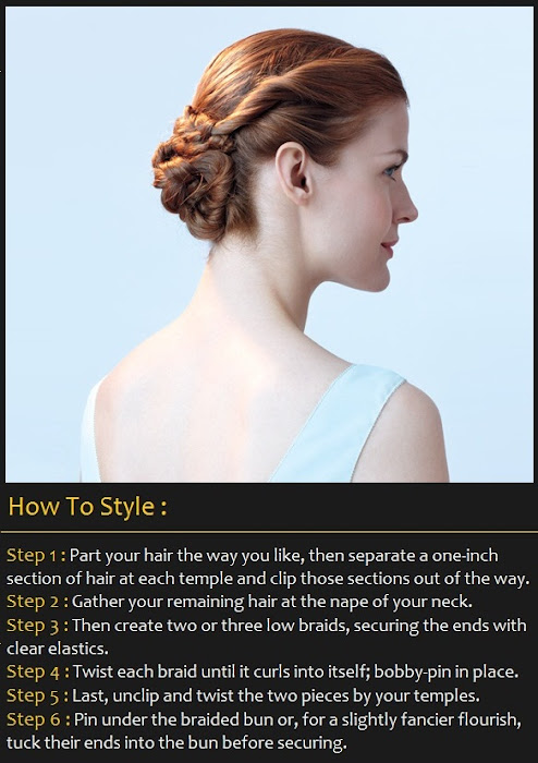 How To Style a Flower Bun Hairstyle