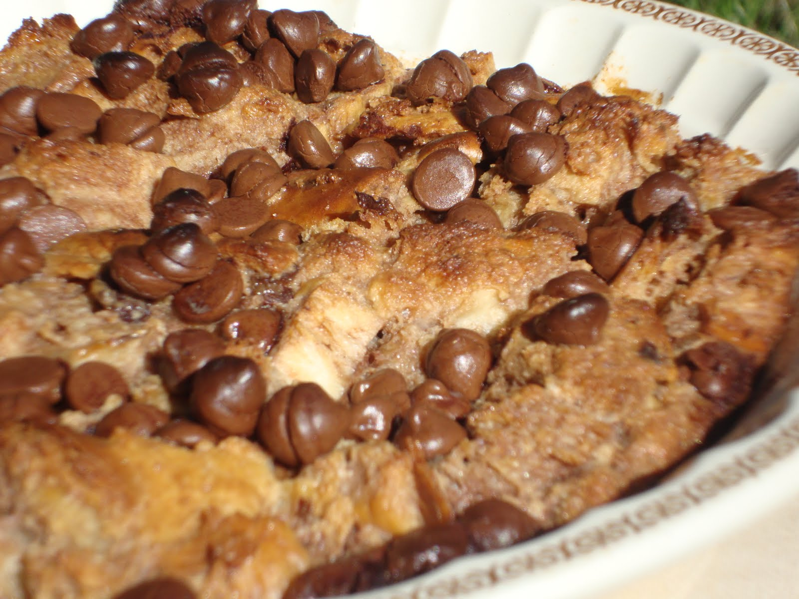 Raspberry chocolate chip bread pudding an excellent way to re-purpose ...