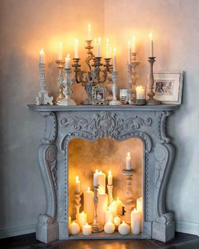 decoración de interiores chimeneas hermanas bolena