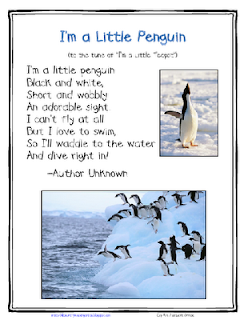 preschool penguin songs lil country librarian a printables challenge from 195