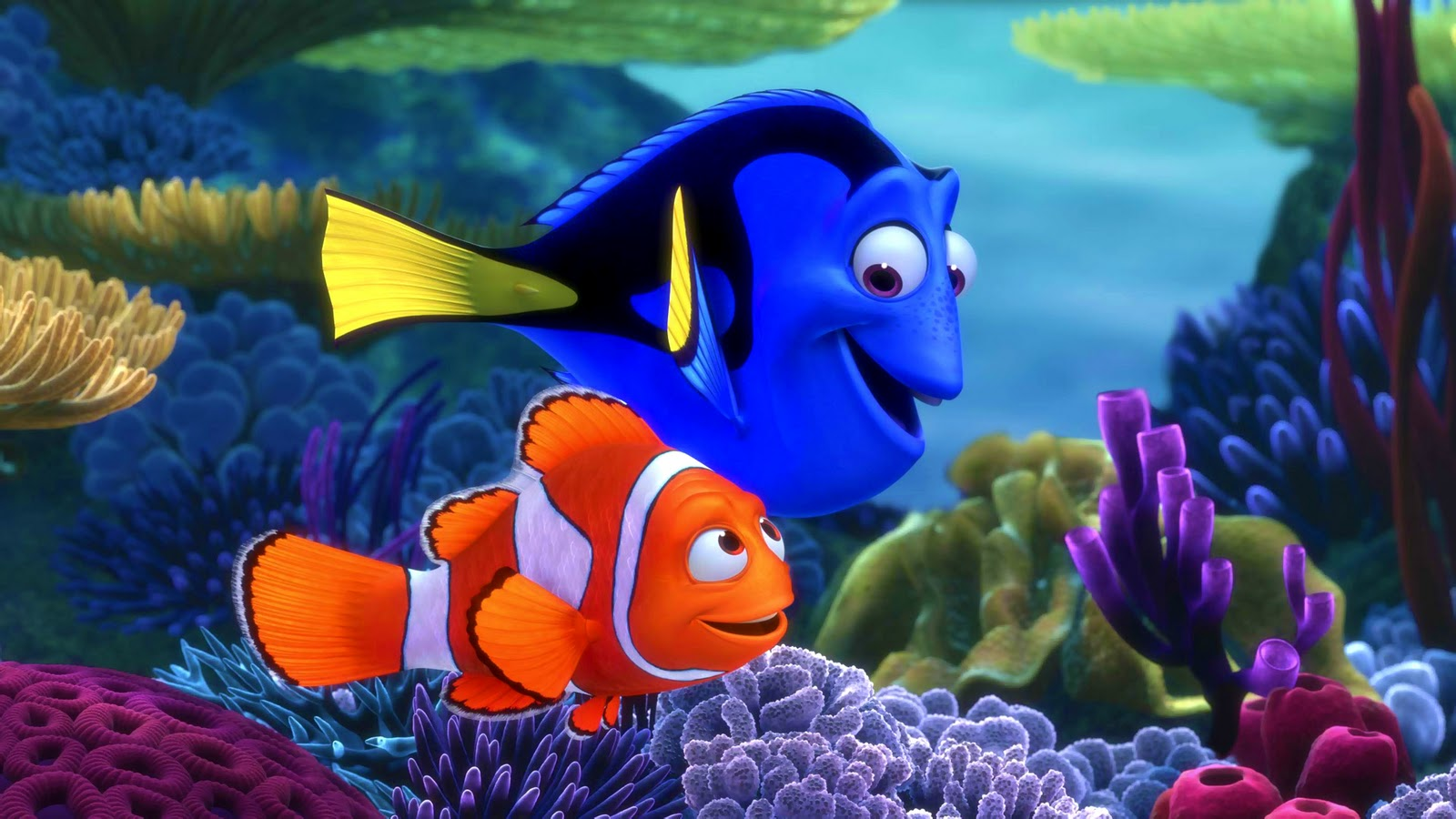 Finding Nemo 3D Movie Poster HD Wallpapers ~ Cartoon ...