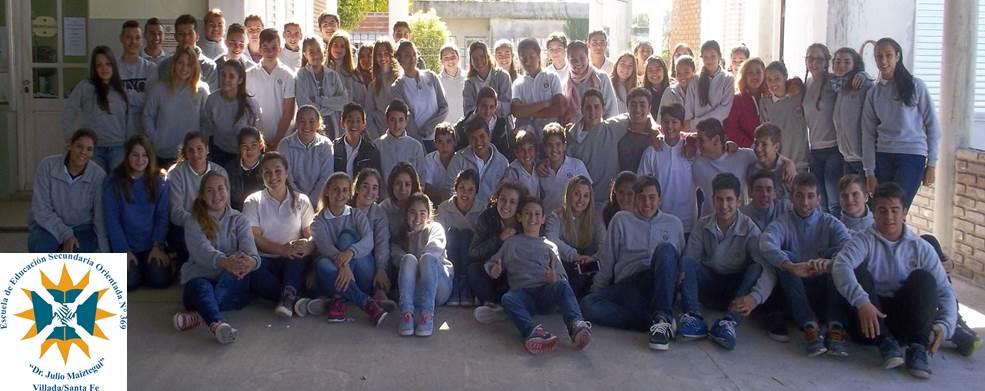 """Escuela de Enseñanza Secundaria Orientada Nº 369 """"Dr. Julio Maiztegui"""" - Villada"""