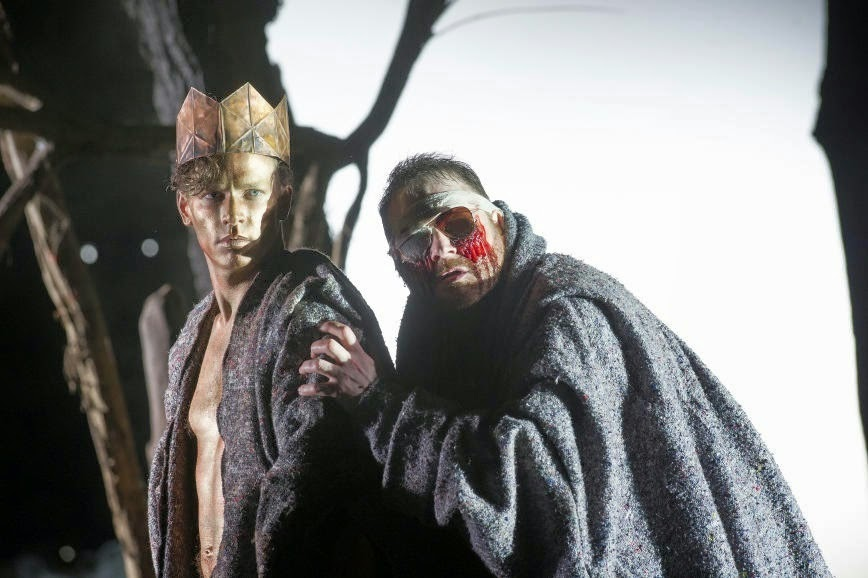 Christopher Ainslie and Roland Wood in Julian Anderson's Thebans at ENO